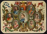 Card celebrating Queen Victoria's Jubilee of 1887