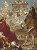 Elijah and the priests of Baal on Mount Carmel