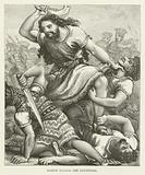 Samson slaying the Philistines