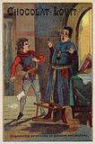 Bertrand Du Guesclin rebels and threatens his tutor