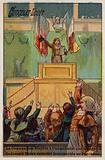 The Convention decreeing unanimously that the remains of Joseph Barra be taken to the Pantheon, 1793