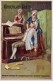 Mozart dies while composing his last requiem