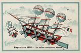 Exposition 1900 - airship