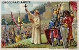 St Bernard preaching the Second Crusade, 1146