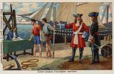 Jean-Baptiste Colbert establishing the French Naval register, 17th Century