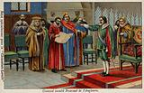 Oliver Cromwell appointed Lord Protector of the Commonwealth, 1653