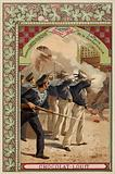 The affair of the Gendarmerie, Chania, Crete, Greco-Turkish War, February 1897
