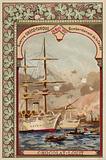 Bombardment of Chania, Crete, Greco-Turkish War, 28 March 1897