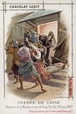 Massacre of the Russian mission of Tong-Tin-An, Boxer Rebellion, China, 10 June 1900