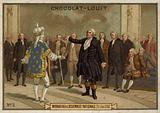 Mirabeau at the National Assembly, 23 June 1789