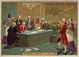 Abolition of privileges by the National Constituent Assembly, French Revolution, 4 August 1789