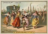 Return of King Louis XVI to Paris, French Revolution, 6 October 1789