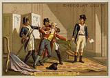 The arrest of the Marquis de Favras, French Revolution, 24 December 1789