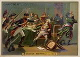 Arrest of Maximilien Robespierre, French Revolution, 27 July 1794