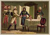 Treaty of Campo Formio, Italy, 17 October 1797