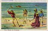 An underwater game of croquet in the year 2000