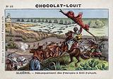 French troops landing at Sidi Feruch, Algeria, 1830