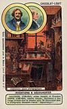 Louis Daguerre and Nicephore Niepce