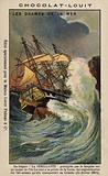 Wreck of the French frigate Semillante, 15 February 1855