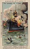 Explosion on board the French battleship Liberte, 25 September 1911