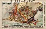 Sinking of the French warship Vengeur du Peuple, Battle of Ushant, 1794