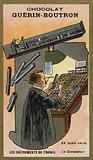 Typesetter's composing stick