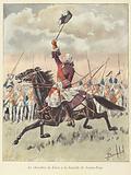 The Chevalier de Levis at the Battle of Sainte-Foy, Quebec, 1760