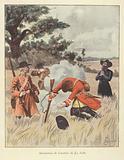 The killing of Rene-Robert Cavelier de la Salle, 1687