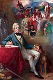 Sir Walter Scott and some of the most famous of his creations