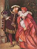Henry VIII and Cardinal Wolsey