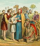 Joseph is sold as a slave by his brothers