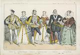 French kings and queens of the 16th and 17th Century