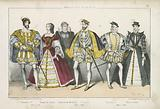 French kings and queens of the 16th Century