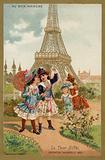 The Eiffel Tower, Exposition Universelle, Paris, 1889