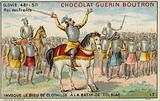 Clovis I invoking the God of Clotilde at the Battle of Tolbiac, 496