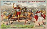 El Cid fighting the Moors