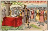 Philip Augustus, King of France, after the Battle of Bouvines