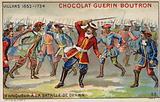 Marshal Villars winning the Battle of Denain