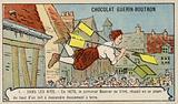 Attempted flight of the locksmith Besnier, 1678