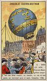 First balloon flight carrying living creatures, Versailles, 1783