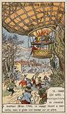 Balloon flight of Andreani, Milan, 1784
