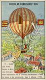 Failed attempt by Guyton de Morveau to steer a balloon, 1784