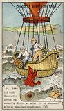 Blanchard and Jeffries make the first successful balloon flight across the English Channel, 1785