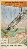 Fatal accident of the aeronauts Bradsky and Morin, Paris, 1902