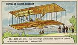 The Wright Brothers perfecting the flying machine of Octave Chanute and making several successful …