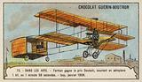 Farman winning the Grand Prix d'Aviation, Issy, France, January 1908