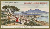 Panorama of Naples and Vesuvius