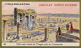 Visit to the ruins of Timgad, near Constantine