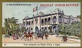 A reception at the Summer Palace, Algiers