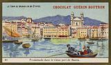 Boat trip in the port of Bastia